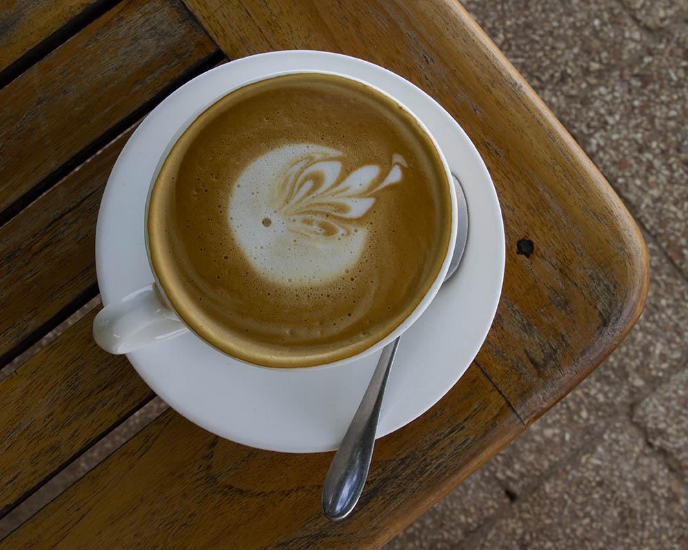 Union Coffee in Moshi, Kilimanjaro.  A good coffee can be a rare luxury.