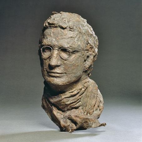 Georg Thurn-Vrintz, 1991, Bronze, Privatbesitz..Georg Thurn-Vrintz, 1991, bronze, privately owned