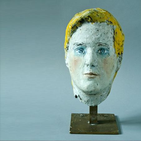 Alexander Spitzy, 2008, Ton, Acryl bemalt, Privatbesitz..Alexander Spitzy, 2008, clay, acryl painted, privately owned