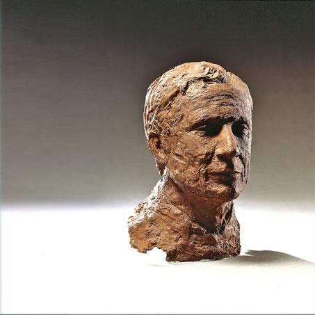 Alceo Bulgarini, 1991, Bronze, Privatbesitz..Alceo Bulgarini, 1991, bronze, privately owned