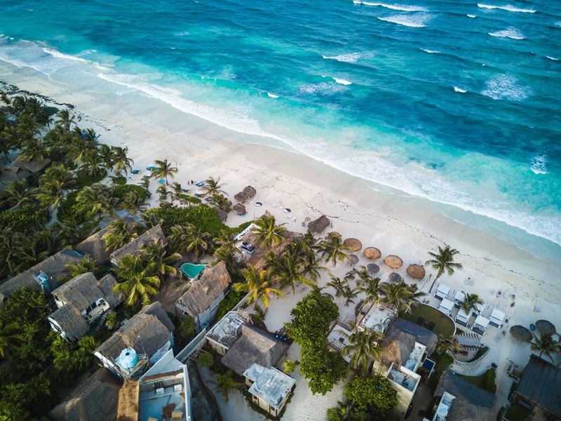 PDC - Mexico - The one where we stayed on the coast of Quintana Roo, being taken in by the magical charms of Playa. This is a city full of creative energy, entrepreneurial travelers and new businesses.2nd to 12th December, 2016