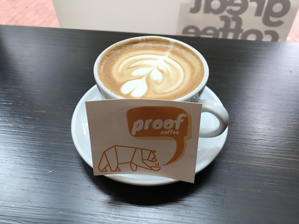PROOF Coffee, New York