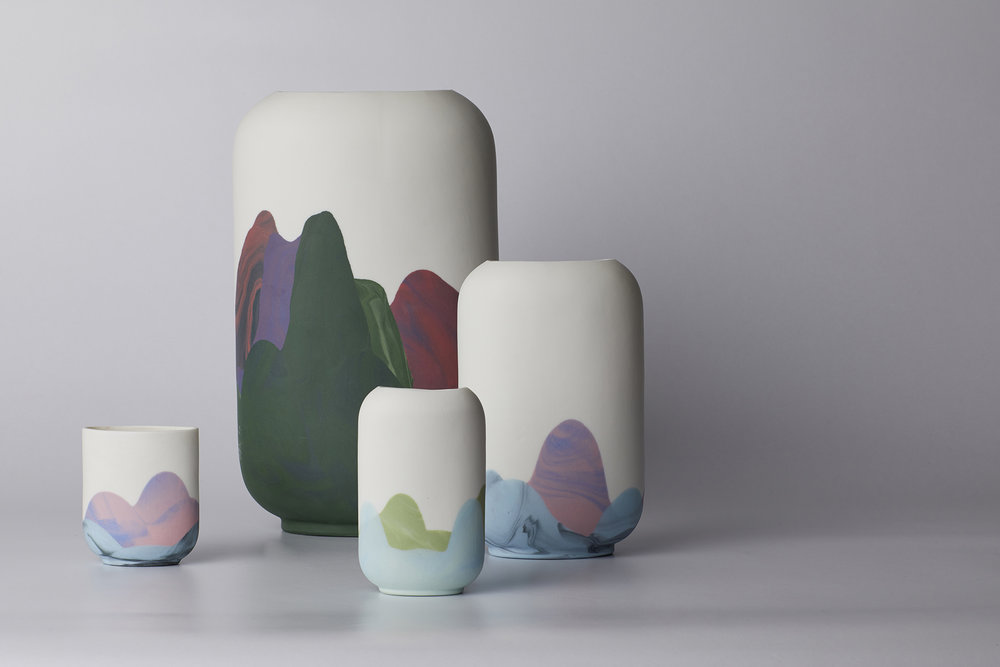 Range Of Vases And Cups Inspired By Hong Kong R L Foote Design Studio