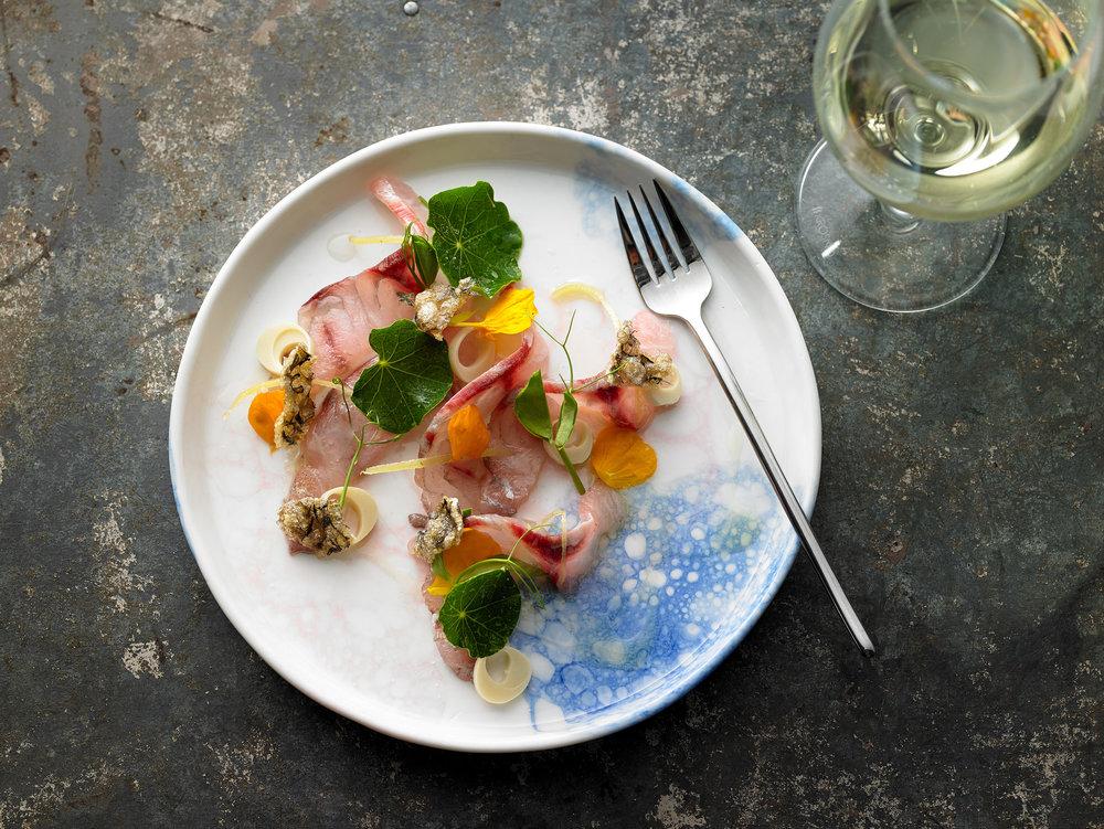 Bespoke ceramic plates for chefs