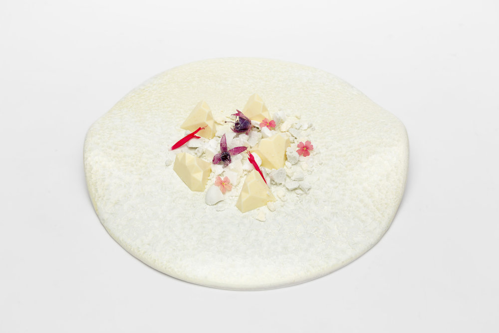 Christaline plate