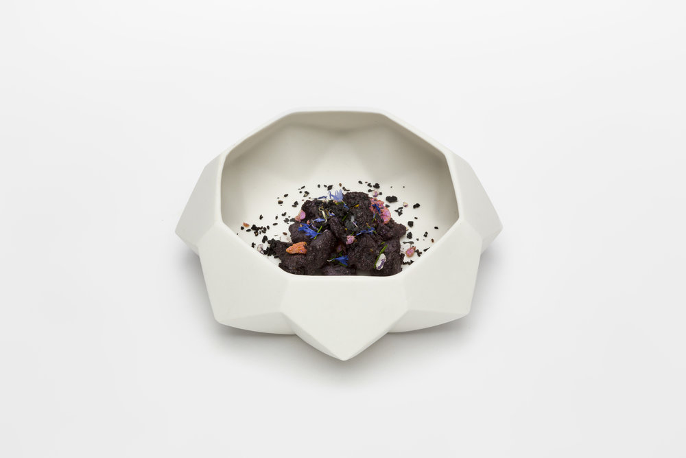Diamond Lab Bowl:  with recipe by Ryan L Foote for the Diamond Lab project