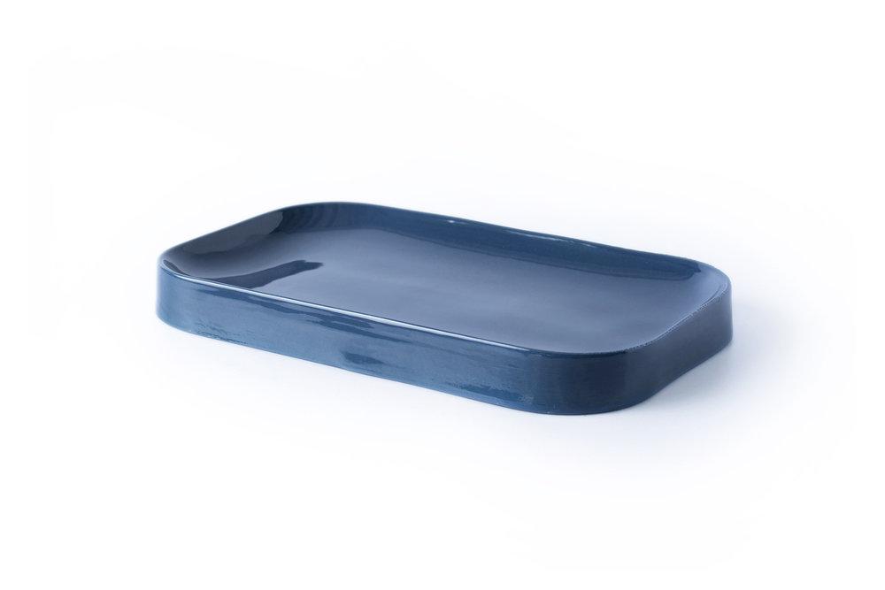 Blue Jade Plate - Mid