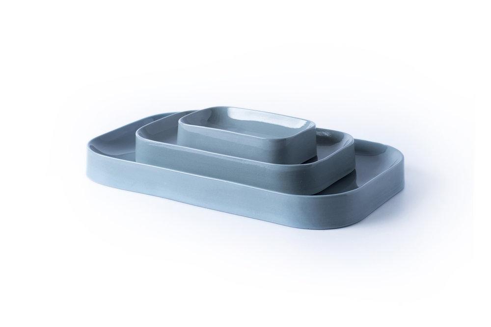 Blue Jade Set - Cool Grey