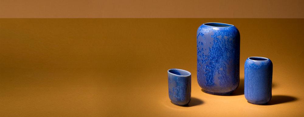 Crystalline Vases -