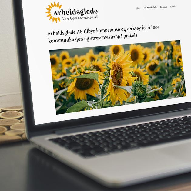Arbeidsglede - Logo, Web