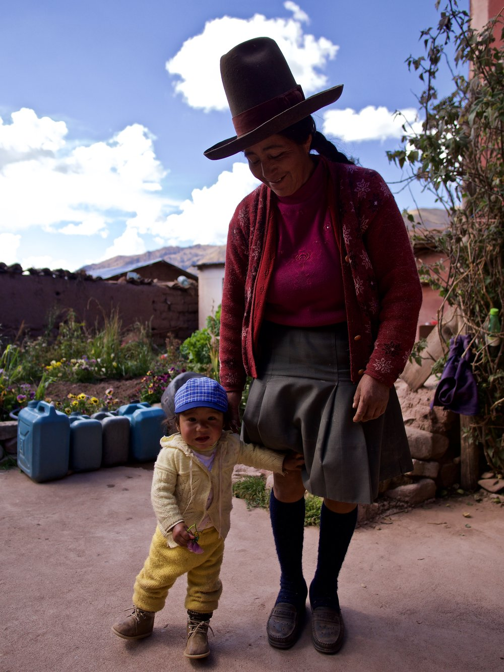 Rafaela Sallo - Volunteer Host, IVHQ PeruCrossing cultures in the Andean Mountains.