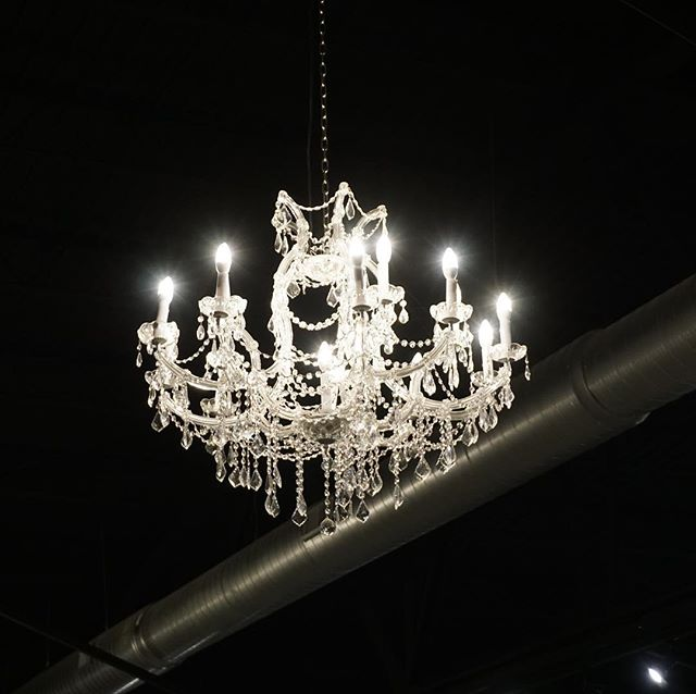 Our chandeliers add a small touch of glam ✨