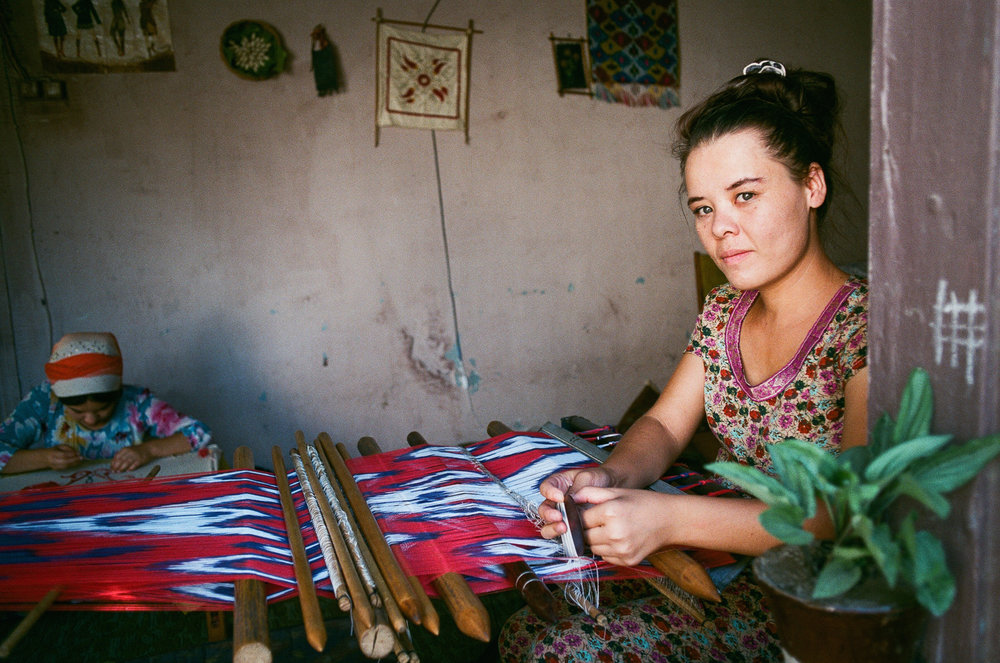 Weaver in Margilan