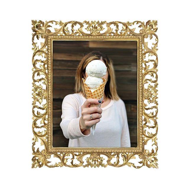 Ceci n'est pas un cornet de glace. #magr_eats #smittenicecream #icecreamcone