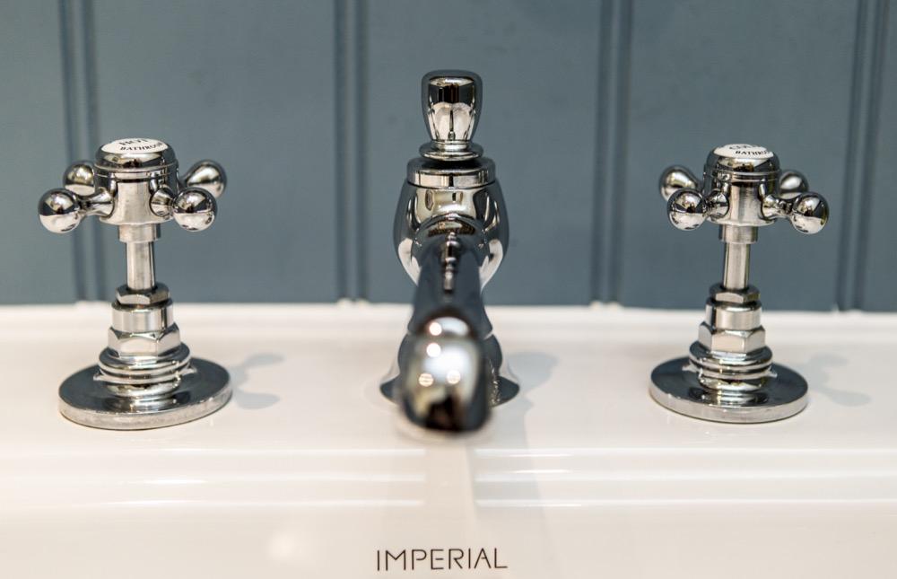 Dedham, Georgian Terrace. Imperial Taps. Emperor Bathrooms