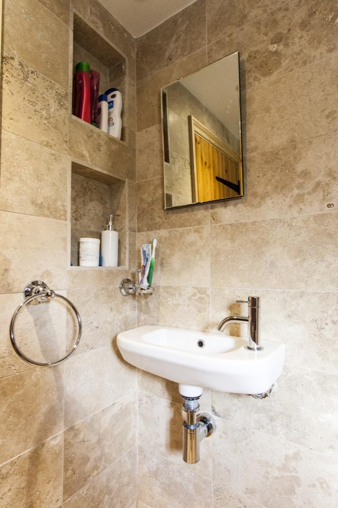 Small ensuite refurbishment bathroom. Emperor Bathrooms limited.