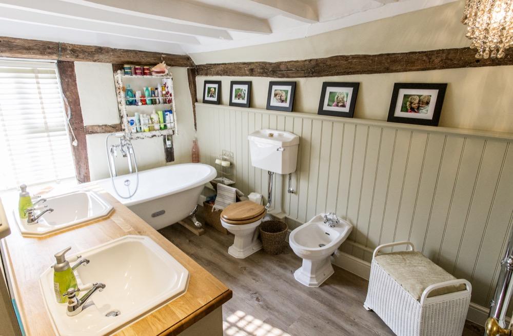 Transformed farm house bathroom. Emperor Bathrooms.