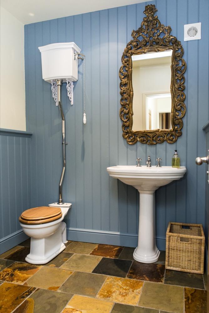 Classic Georgian styling. Emperor Bathrooms.