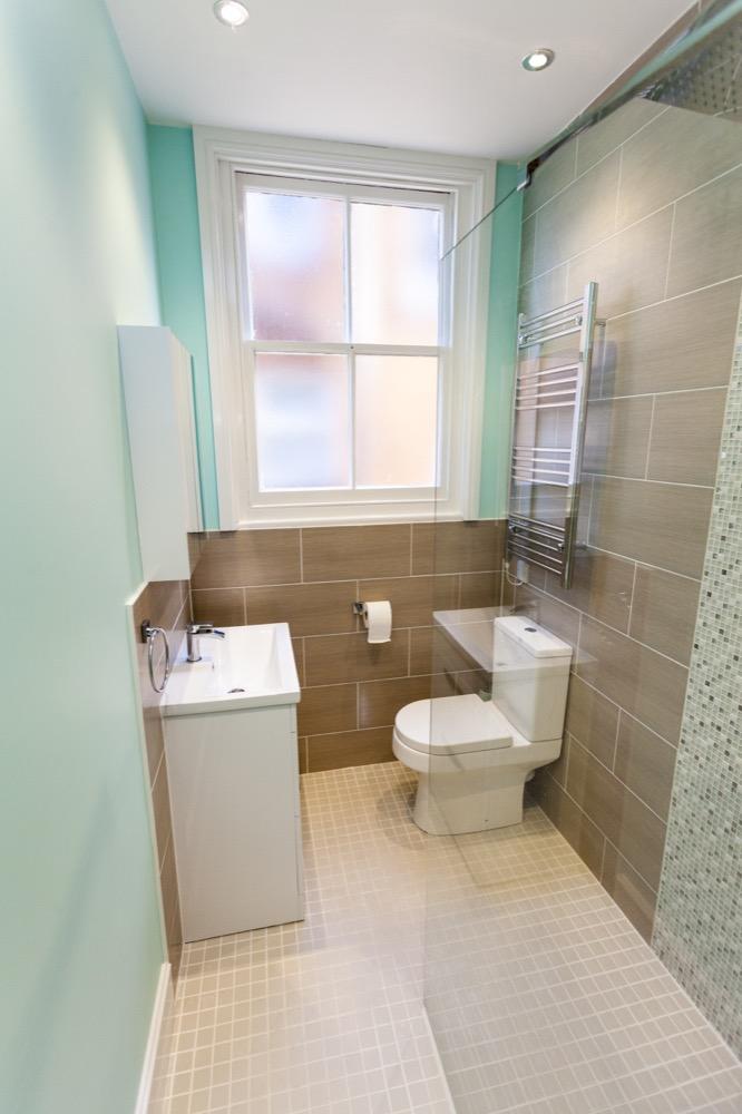 small bathroom in Colchester. Emperor Bathrooms.