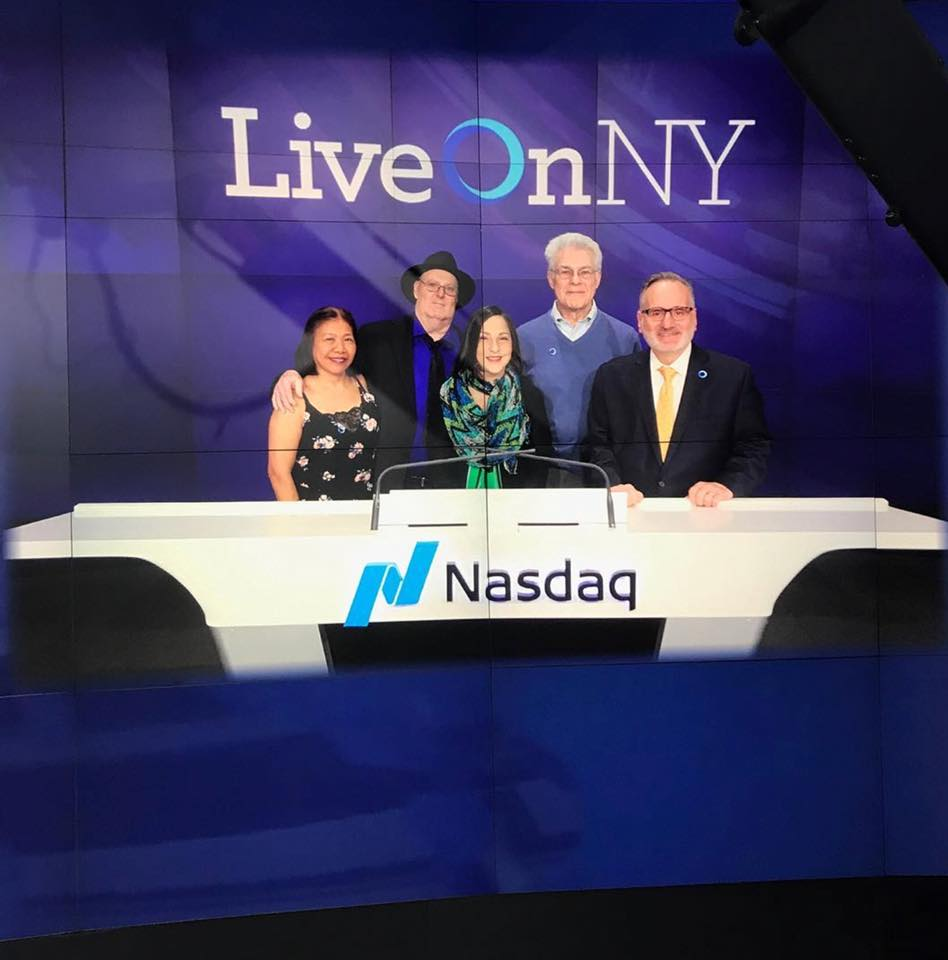 TSO at NASDAQ, April 2, 2018