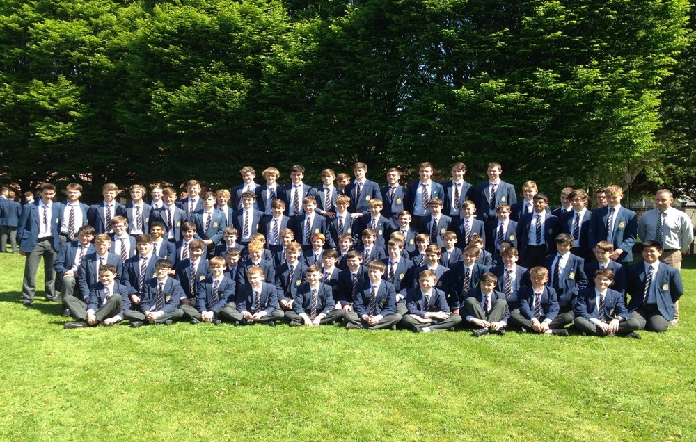 Group Photo-June 2017 (Members of the Pres Rowing Squads).jpg