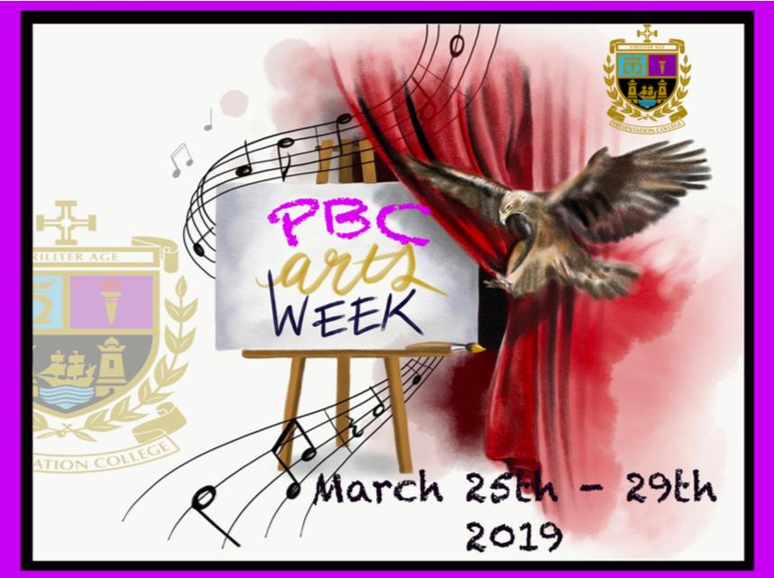 Arts Week 2019 - 25-29 March, 2019