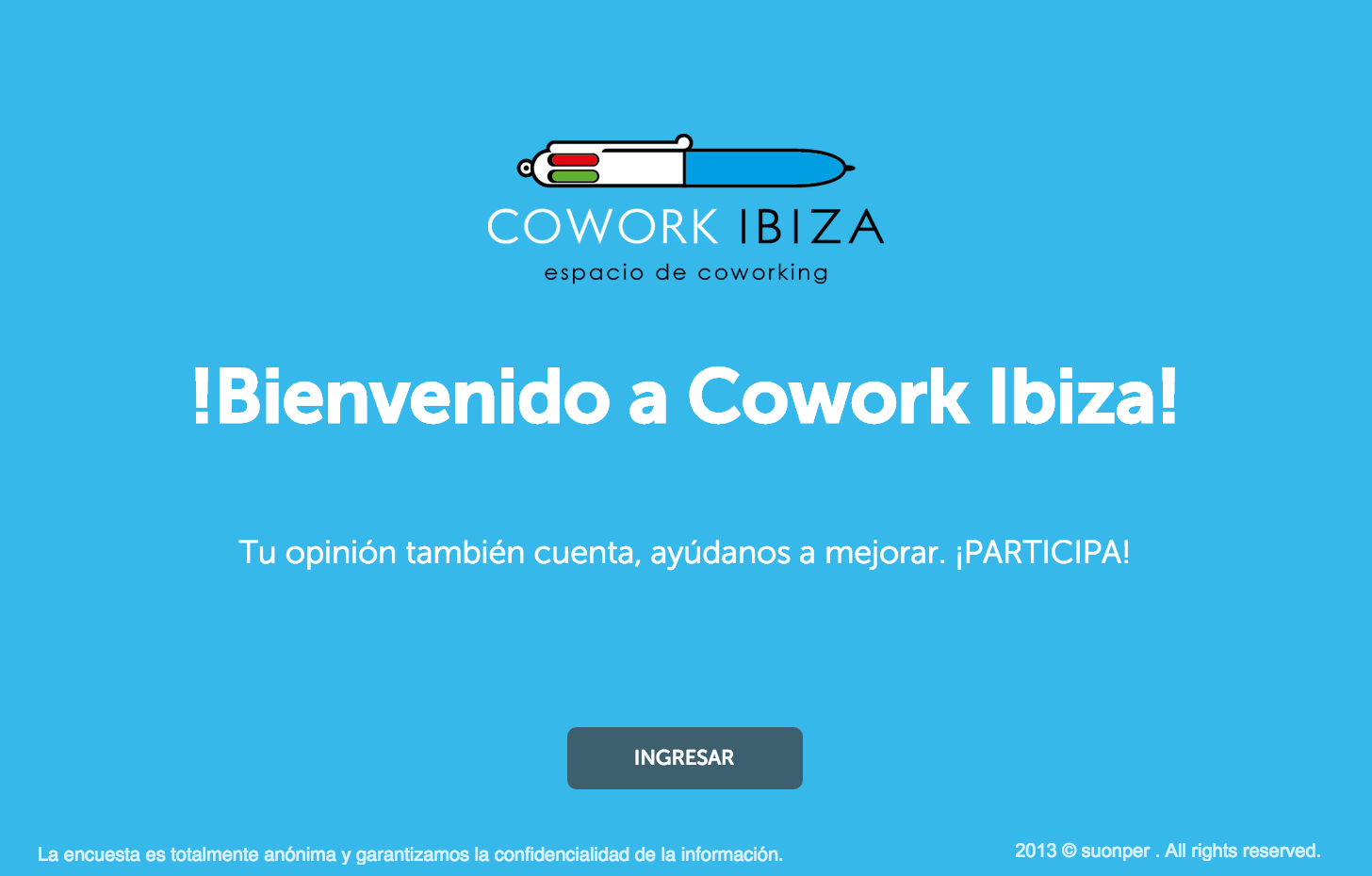 Encuesta Cowork Ibiza