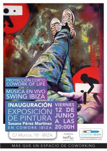 evento Cowork Ibiza: música en directo, exposición de arte