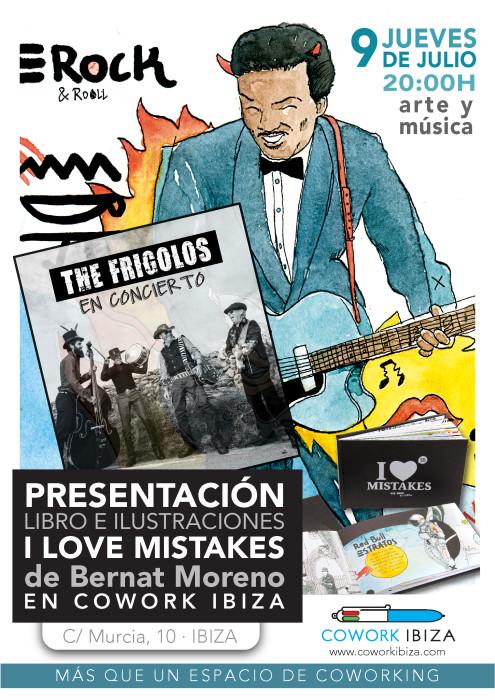 live music presentación libro Cowork Ibiza