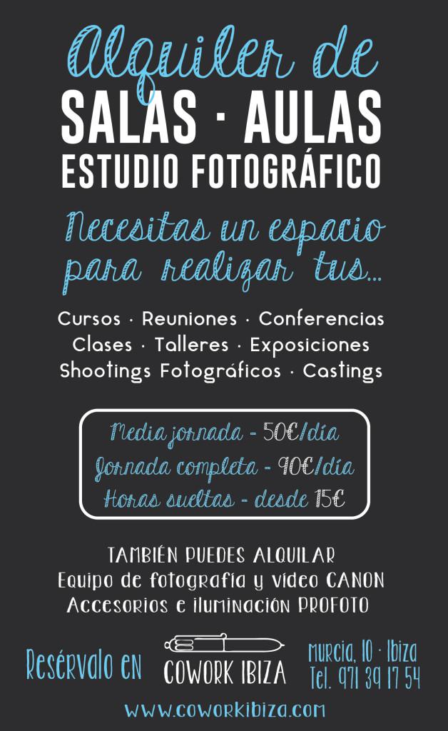 alquiler estudio fotográfico, alquiler material fotografía