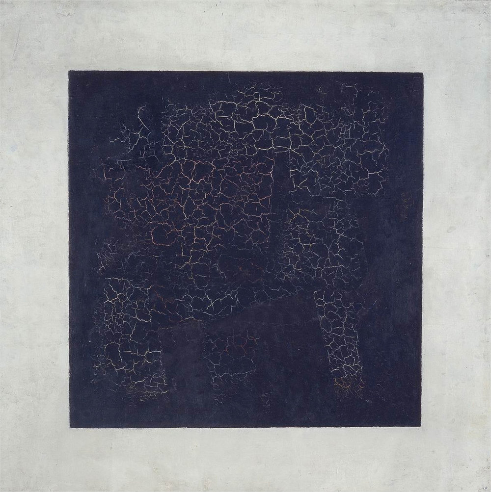Kazimerz malevich - Black Square, 1915. image courtesy of tretyakov gallery, moscow