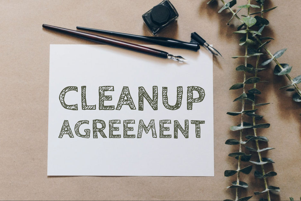 Cleanup Agreement -