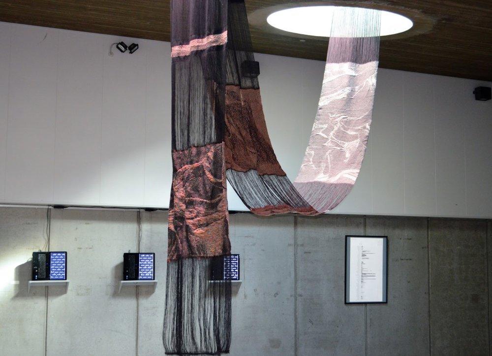 FRONT: Anne-Sofie Overgaard,  Digital Folds , 2016 BACK: Anders Visti,  Common Tool s, 2016