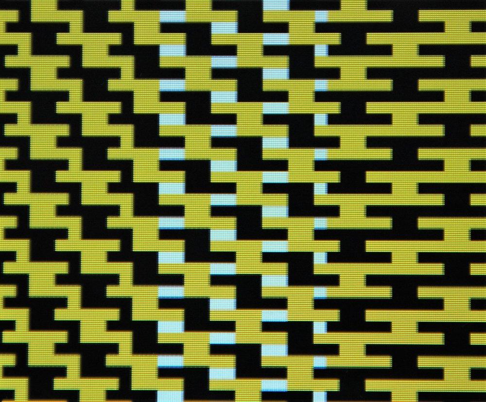Søren Krag,  Merging Patterns , detail, 2017