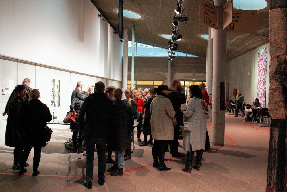 Rethinking MATTER: Digital Materiality opening reception