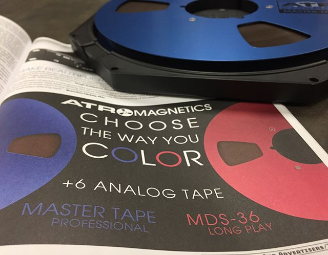 📣 EXTRA EXTRA Read all about it! 📣 We are really excited to have our ad displaying the new Master Tape Blue and MDS Red reels in the January/February issue of @tapeopmag  Tape is alive and rolling.  What are you threading?  #modernclassicsound #ATR #NothingSoundsLikeTape  _____________________  Grab some tape by checking the link in our bio... #analogrecording #analog #atrtape #reelmusic #reeltoreel #tapemachine #friday #precise #reliable #TheTapeManufacturer