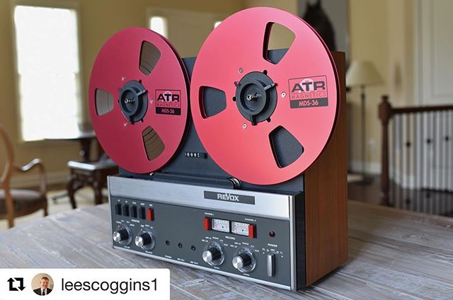 Long play all day. The 1mil tape your machine deserves. 📸:@leescoggins1  #modernclassicsound #ATR #longplay #NothingSoundsLikeTape #allday  _____________________  Grab some tape by checking the link in our bio... #analogrecording #analog #atrtape #reelmusic #reeltoreel #tapemachine #Thursday #precise #reliable #TheTapeManufacturer