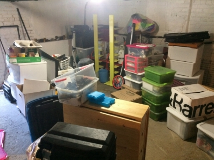 More Chaos: Packing up the Basement