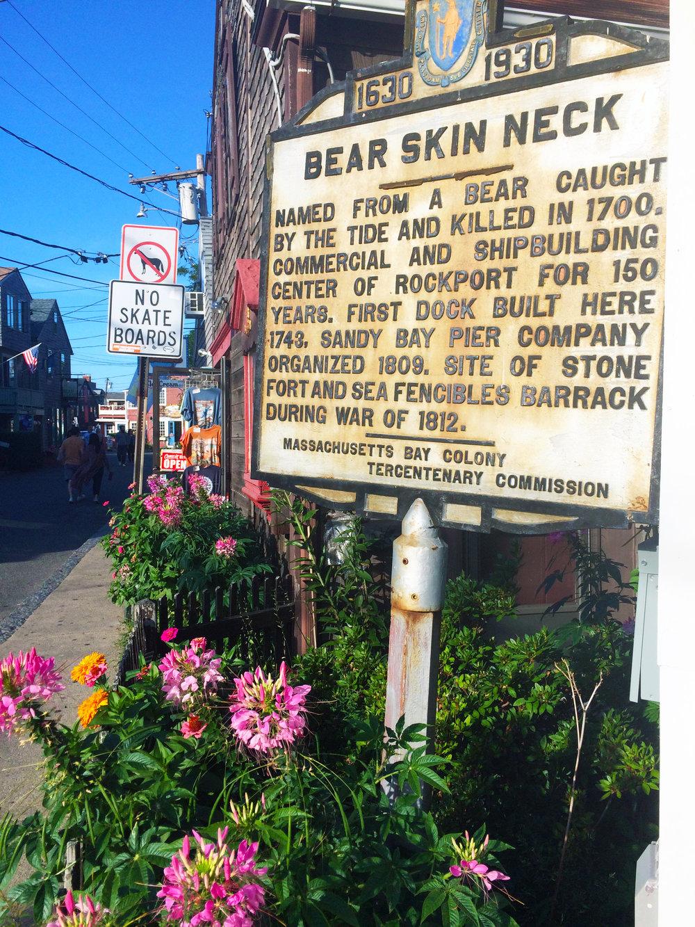 Bearskin Neck, MA