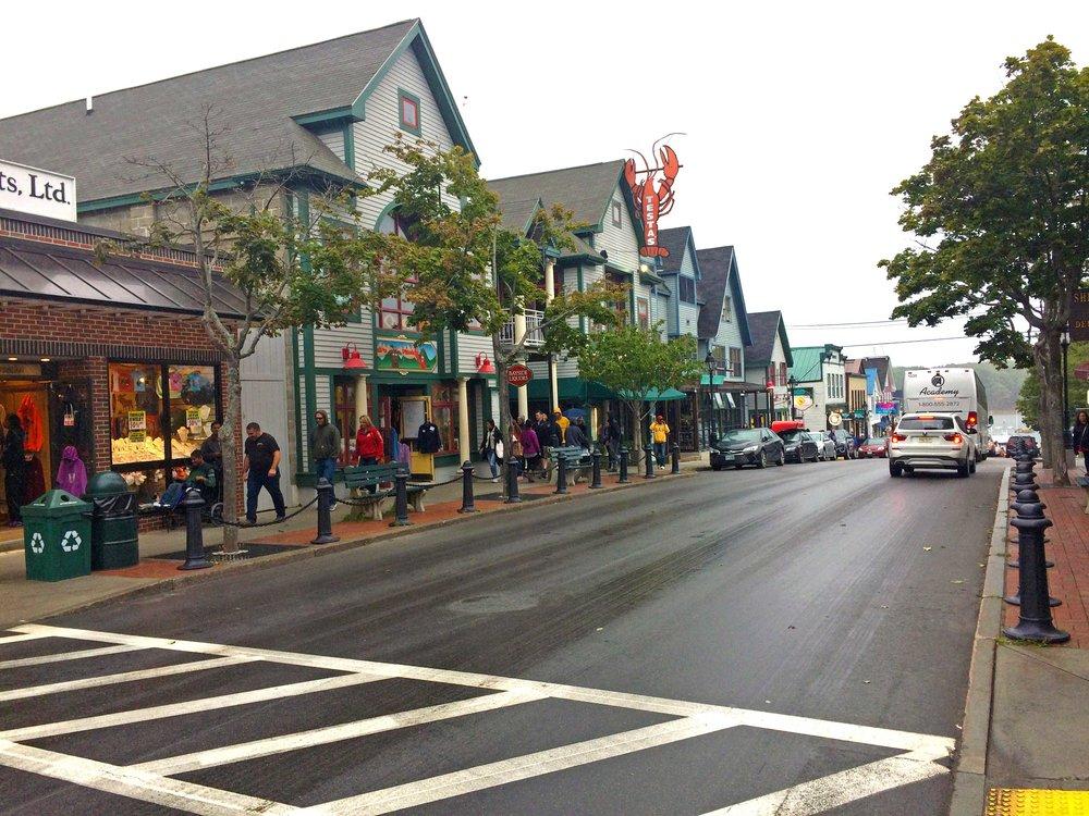 Main Street - Bar Harbor, ME