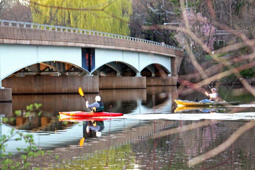 Harrison Street Bridge - Carnegie Lake