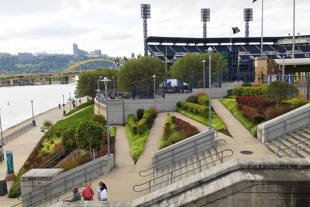 PNC Park on the Allegheny River