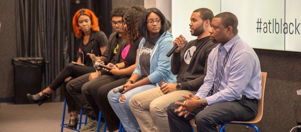 diversity in technology - State of Atlanta Black Tech Event @ The Gathering Spot