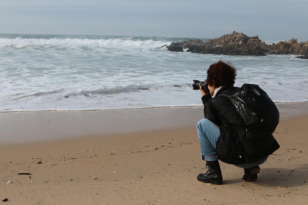 Nuestra fotógrafa  Cinda Miranda  estuvo en Leça da Palmeira fotografiando uno de sus lugares favoritos, el mar.  Este registro estuvo a cargo de nuestro corresponsal en Europa, el fotógrafo Pedro Morais, quien acompañó en todo momento a Cinda durante su recorrido.