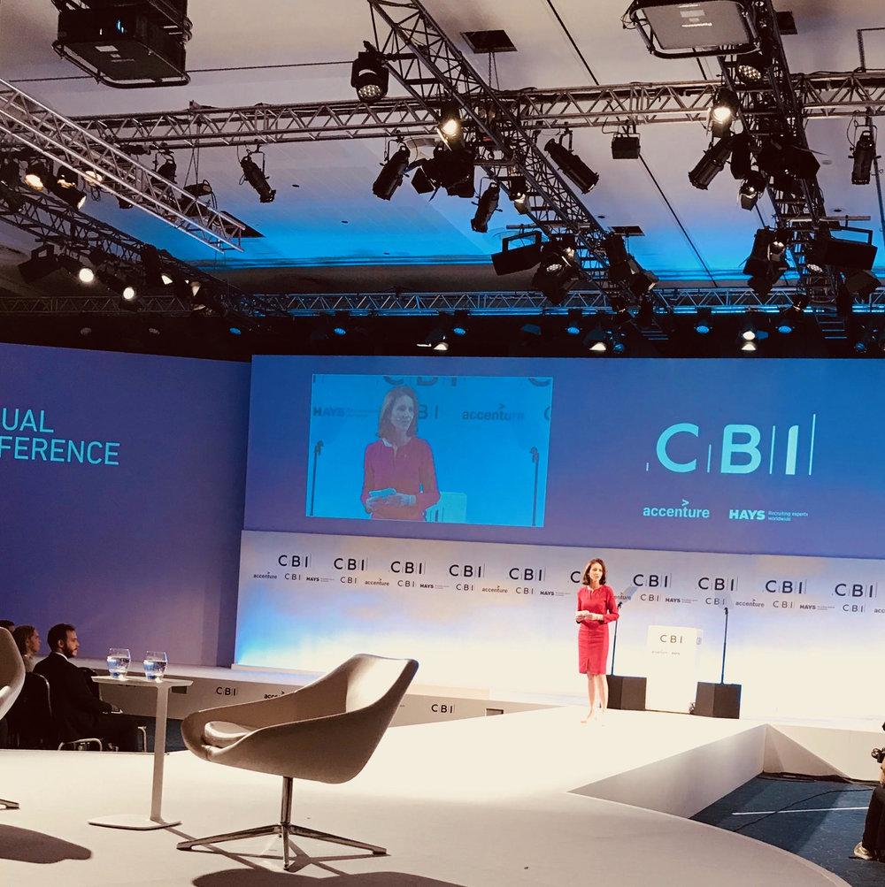 Carolyn Fairbairn, CBI Director-General, CBI conference, London November 6, 2017