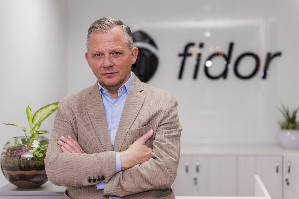 Matthias Kröner, Fidor CEO  source: Fidor/IFC, Munich April 11, 2018