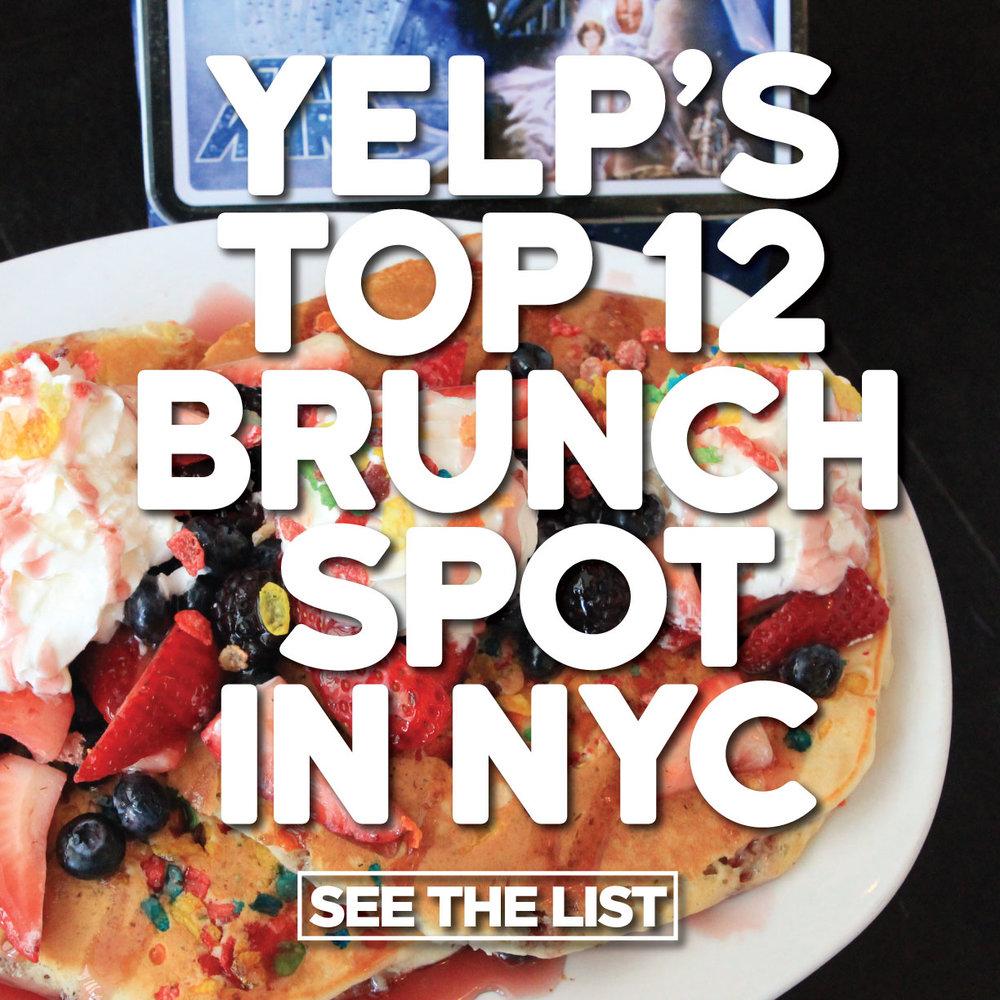 Mom's Named Top 12 Brunch Spot on Yelp