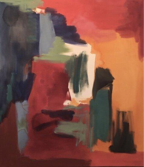 Mayan Dream, 58x50