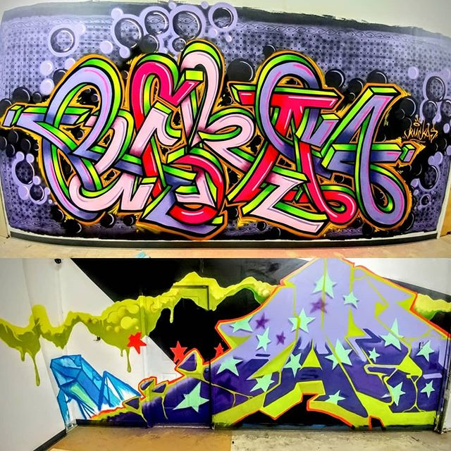 Great new pieces of art added to the Hi Tunes warehouse By Ruckus aka Shawn Cass and @TajEye