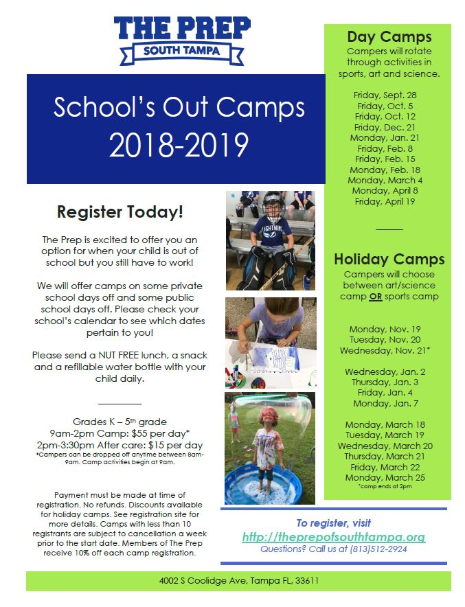 2018 -19 Schools Out Camp Flyer.JPG
